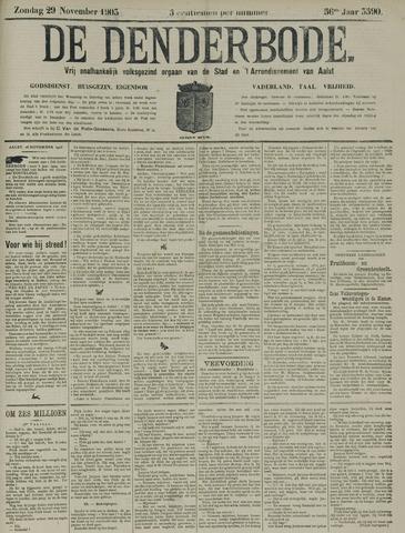 De Denderbode 1903-11-29