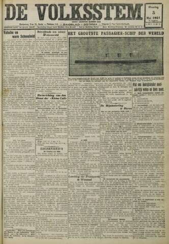 De Volksstem 1931-05-05