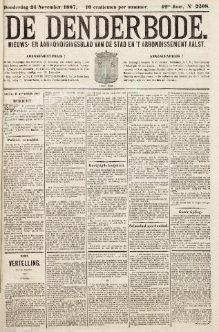 De Denderbode 1887-11-24