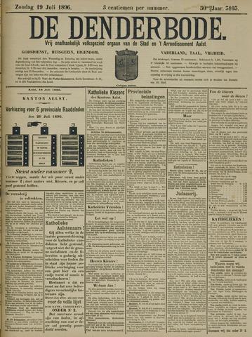 De Denderbode 1896-07-19