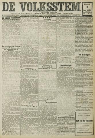 De Volksstem 1930-12-02