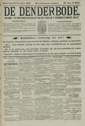 De Denderbode 1894-11-22