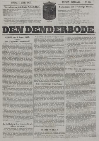De Denderbode 1857-04-05