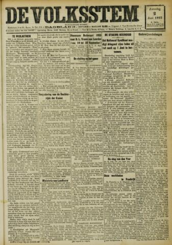 De Volksstem 1923-06-02