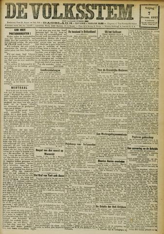 De Volksstem 1923-12-07