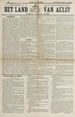 Het Land van Aelst 1881-04-17