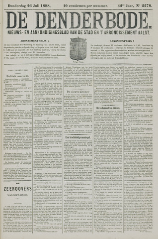 De Denderbode 1888-07-26