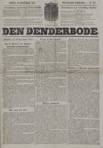De Denderbode 1857-11-29