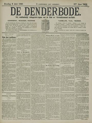 De Denderbode 1906-07-08