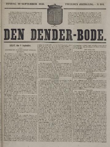 De Denderbode 1848-09-10