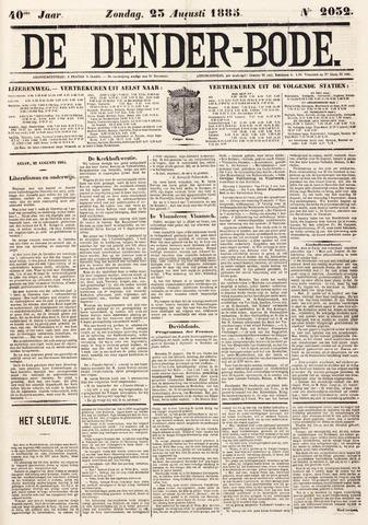 De Denderbode 1885-08-23