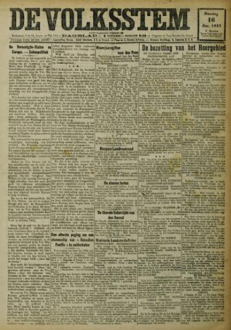De Volksstem 1923-01-16