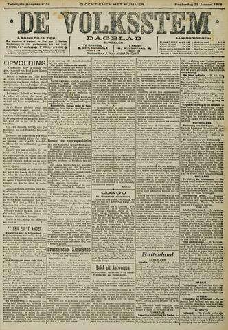 De Volksstem 1914-01-29