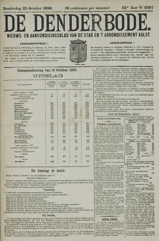 De Denderbode 1890-10-23