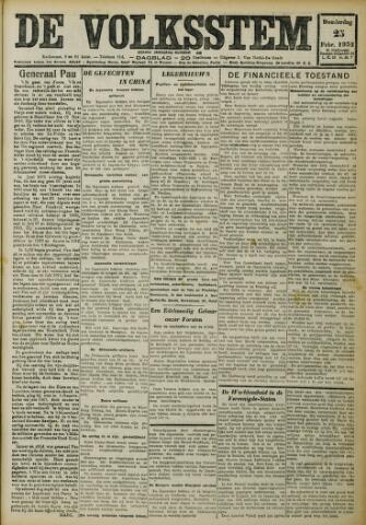 De Volksstem 1932-02-25