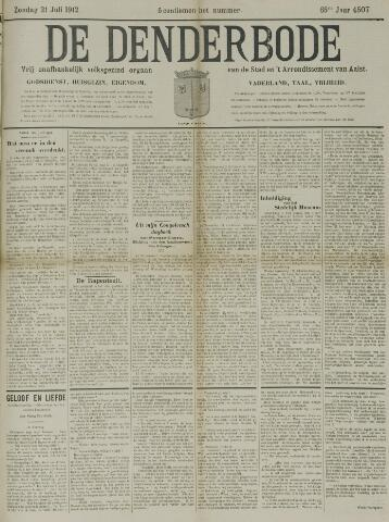 De Denderbode 1912-07-21