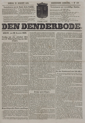 De Denderbode 1859-08-21