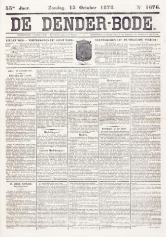 De Denderbode 1878-10-13
