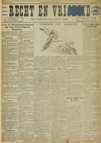Recht en Vrijheid 1931