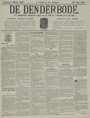 De Denderbode 1903-03-01