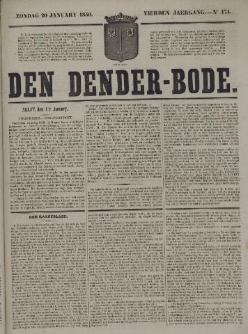 De Denderbode 1850-01-20