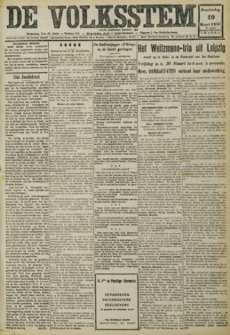 De Volksstem 1931-03-19