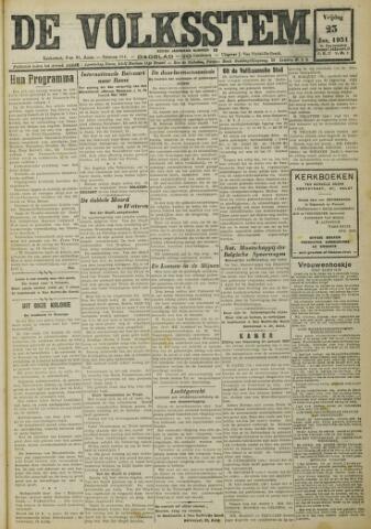 De Volksstem 1931-01-23