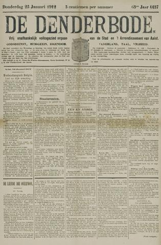 De Denderbode 1912-01-25