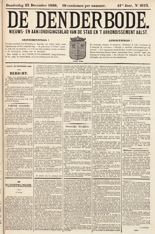 De Denderbode 1886-12-23