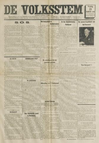 De Volksstem 1938-02-25