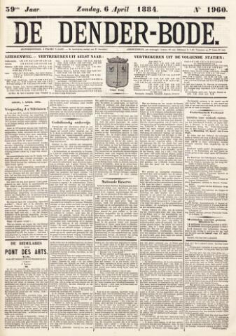 De Denderbode 1884-04-06