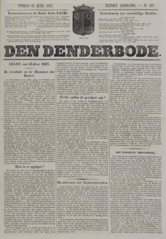 De Denderbode 1857-06-14