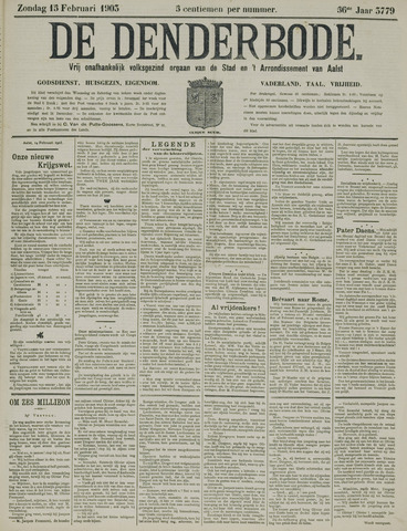 De Denderbode 1903-02-15