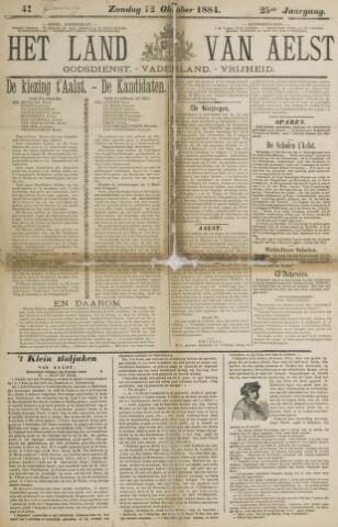 Het Land van Aelst 1884-10-12
