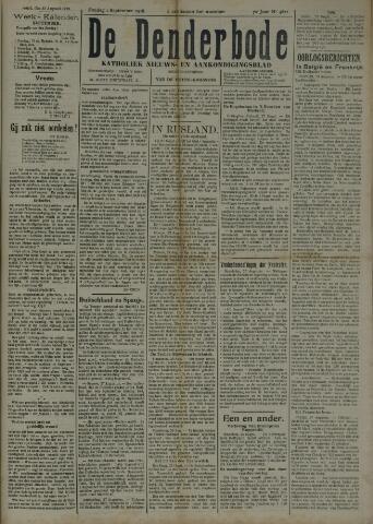 De Denderbode 1918-09-01