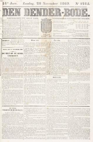 De Denderbode 1869-11-28