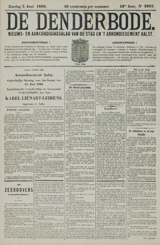 De Denderbode 1888-06-03