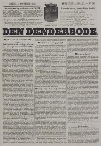 De Denderbode 1857-11-15