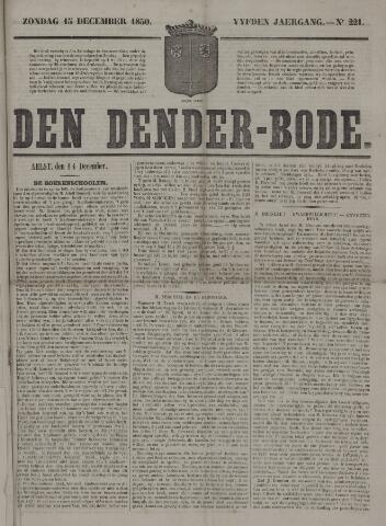 De Denderbode 1850-12-15