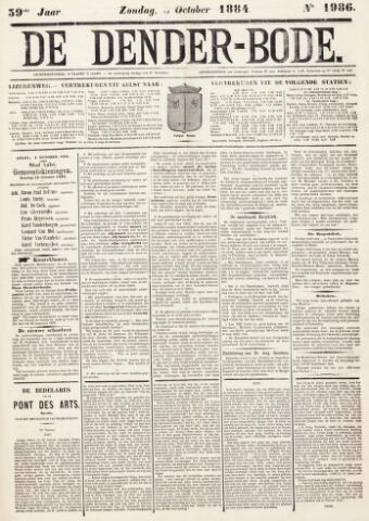 De Denderbode 1884-10-05