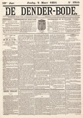 De Denderbode 1884-03-02