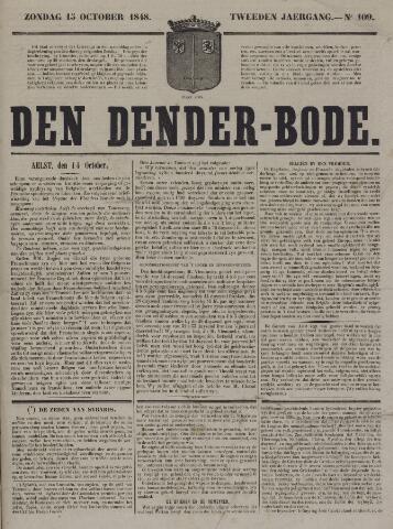 De Denderbode 1848-10-15