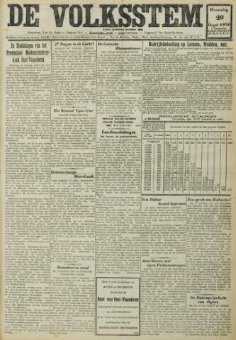 De Volksstem 1930-08-20