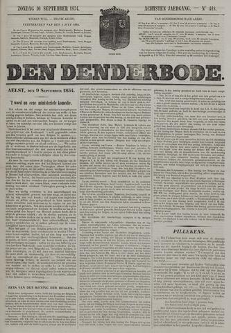 De Denderbode 1854-09-10