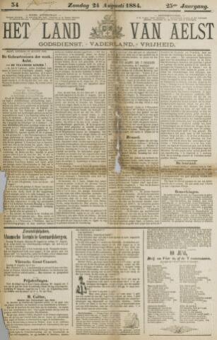 Het Land van Aelst 1884-08-24