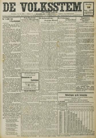 De Volksstem 1930-09-16