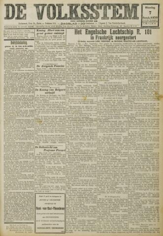 De Volksstem 1930-10-07