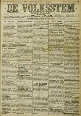 De Volksstem 1915-12-28