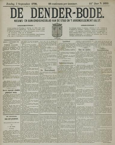De Denderbode 1890-09-07