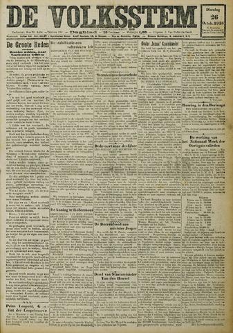 De Volksstem 1926-10-26